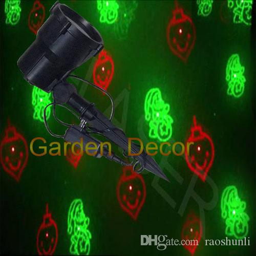 2018 redgreen moving laser christmas light eight patterns garden outdoor ip65 waterproof landscape lawngarsspooldecorationholiday lighting from