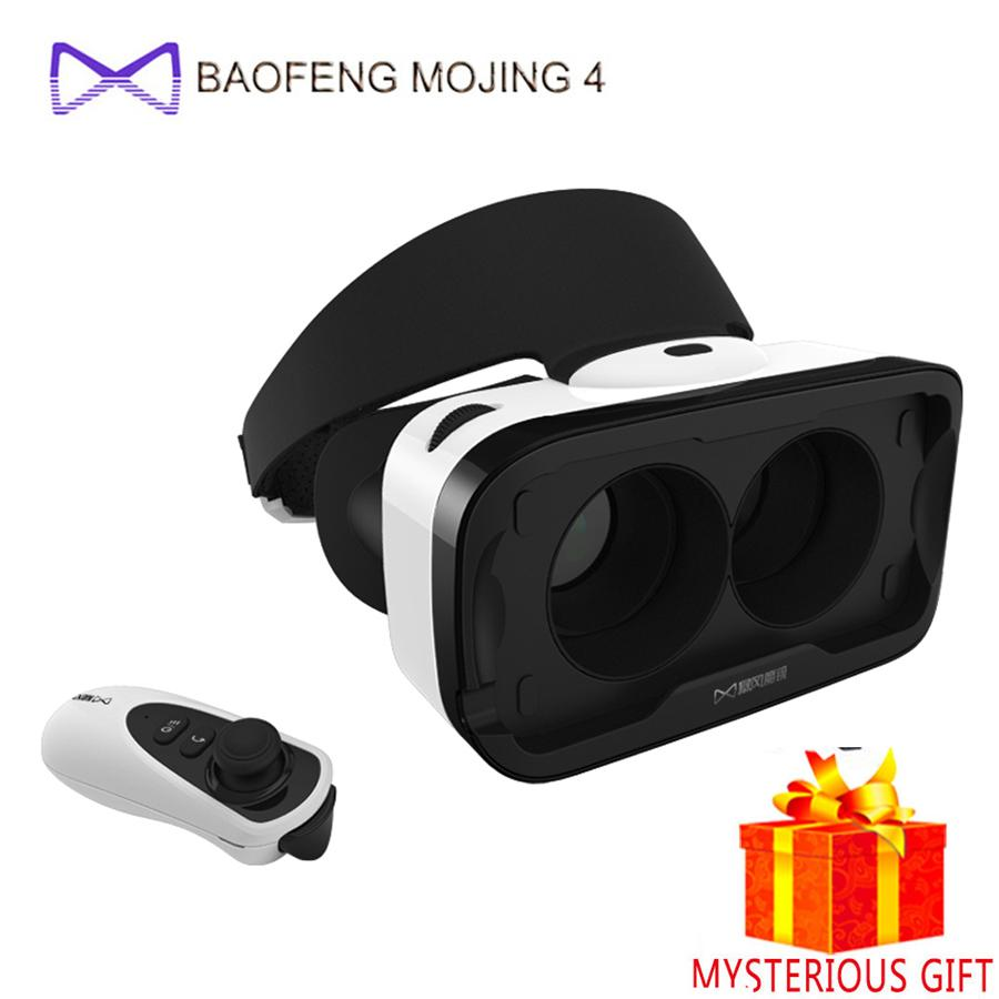 196a37a7d4a4 Wholesale Baofeng Mojing 4 VR Box Headset Video 3 D 3D Virtual Reality  Glasses Goggles Smartphone Helmet For IPhone Google Cardboard Vrbox 3d  Passive ...