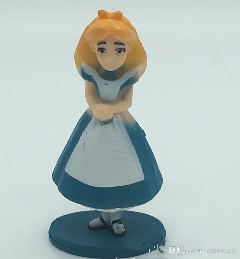 30 шт. 5 компл. Алиса в Стране Чудес бонсай фигурки миниатюрные для террариумов орнамент мини jardim античный кукольный домик игрушки