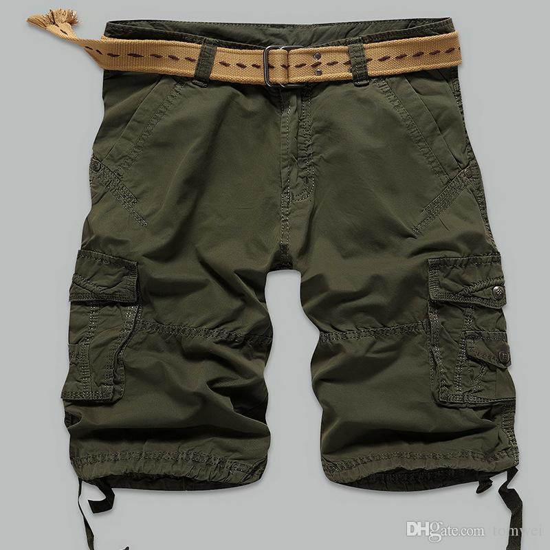 2017 2017 Men Shorts Cotton Casual Mens Cargo Shorts Hot Fashion ...
