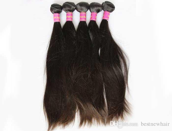 Brazilian Virgin Hair Bundles Straight Peruvian Indian Malaysian Human Hair Weave Unprocessed Cheap Human Hair Extensions Wholesale Price