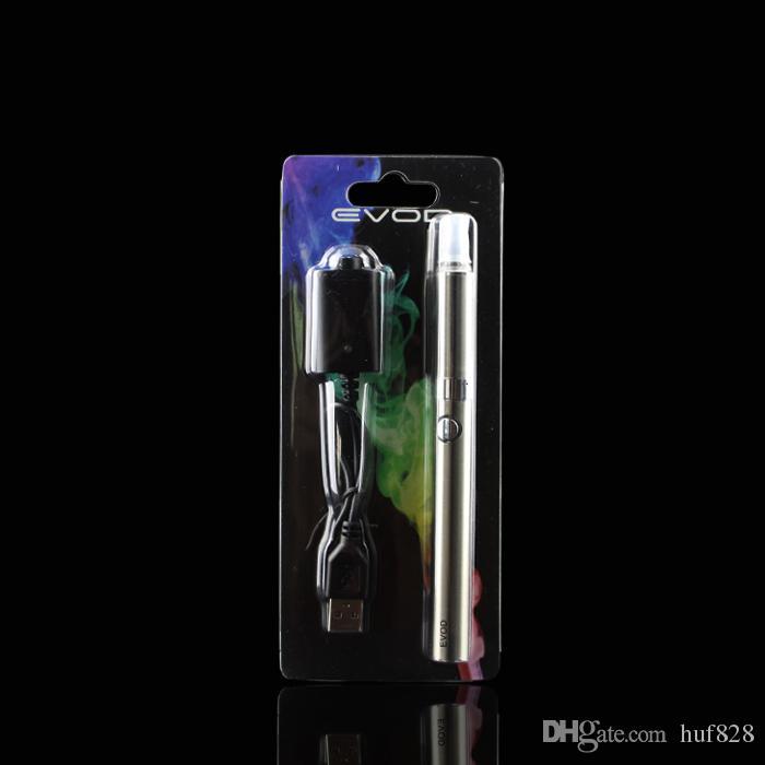 EVOD MT3 Blisterpackung Einzelpackungen eGo Starterpackungen e Cigs Zigaretten 650mAh 900mAh 1100mAh EVOD Batterie MT3 Zerstäuber