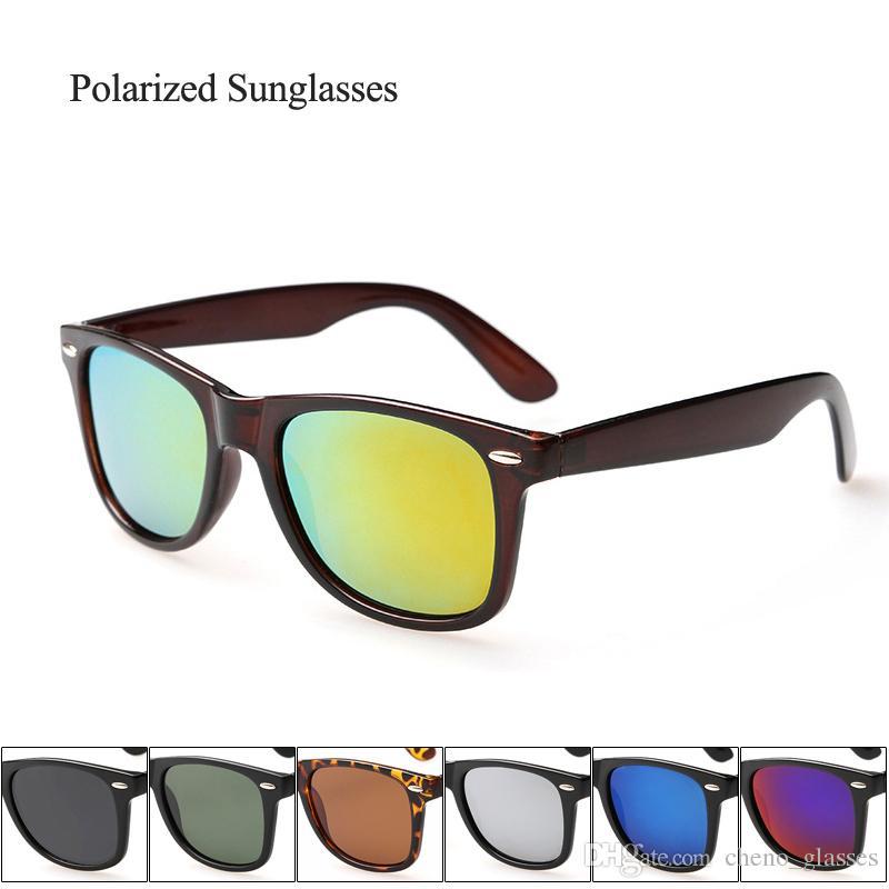 18492070e8 Compre Gafas De Sol Polarizadas Vintage Para Mujer, Hombres, Lentes De Sol  Clásicas De Espejo Al Por Mayor Con Bisagra De Metal Gafas De Sol A $137.06  Del ...