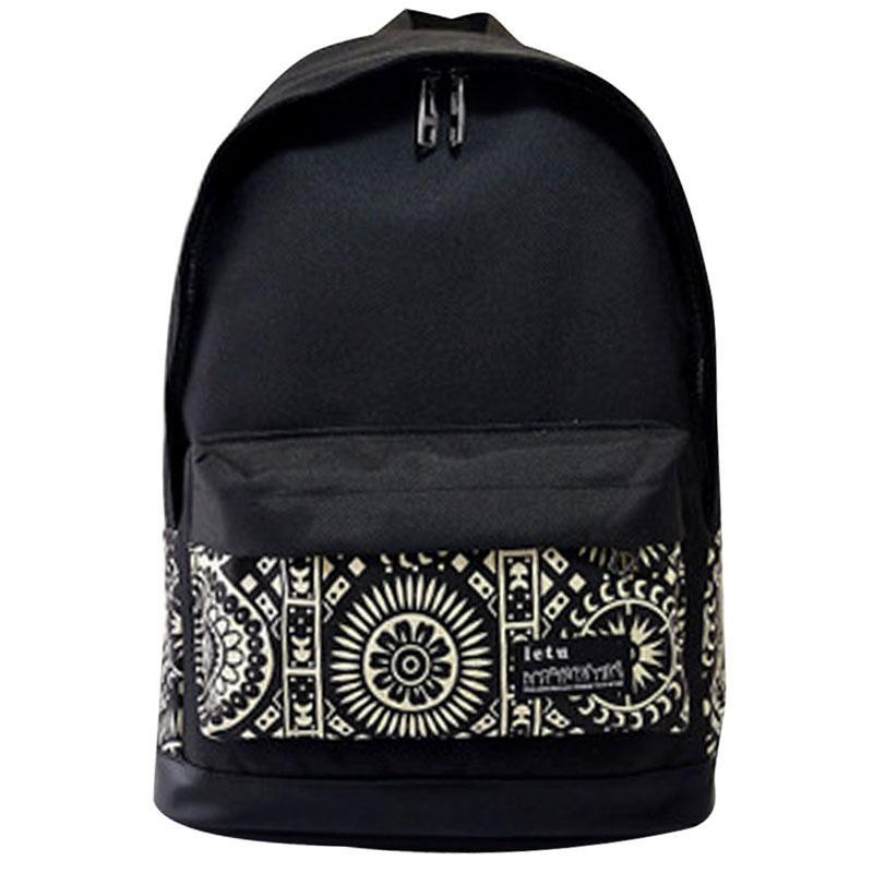 63943a1cb Wholesale Brand Korean Canvas Graffiti Printing Backpack Women School Bags  For Teenage Girls Rucksack Vintage Laptop Backpacks Female Ogio Backpack ...