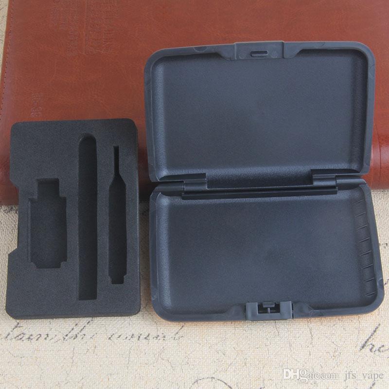 Vape Colorful Package Cigarette Plastic Case for Gold Glass Cartridge 510 Bud Touch Vape Wax Oil O Pen Kits