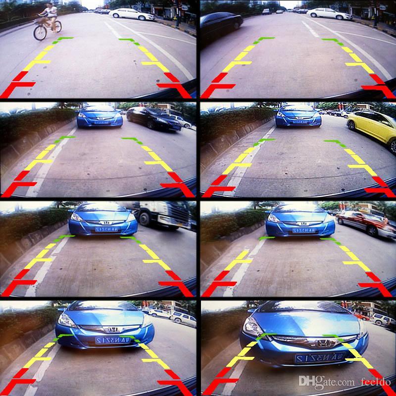 FEELDO Araç Yedekleme Arka Görüş Kamerası İçin Jeep Wrangler 2012-13 3096 Lamba # Kuyruk Stok Plaka değiştirin