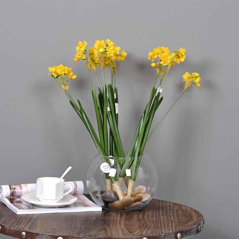 2018 high quality simulation fake flower daffodil artificial plant 2018 high quality simulation fake flower daffodil artificial plant yellow silk flowers home garden decoraation ma2341 from chenjong 2642 dhgate mightylinksfo