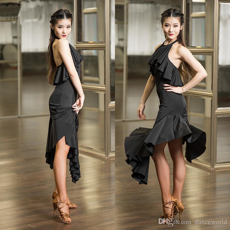 Vestito da ballo latino 2018 abiti da ballo latino in vendita Abito costume di Latina il costume da ballo salsa tango rumba salsa dress