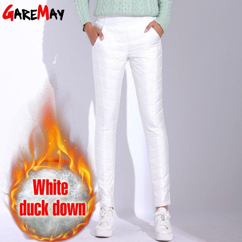 Pantalones Pantaloon 2017 Cintura Para Cálido Invierno Cintura Mujer Pantalones Alta Pantalones Compre Mujer De Blancos De De Talla Para Para Grande Bfwqnx7OZS