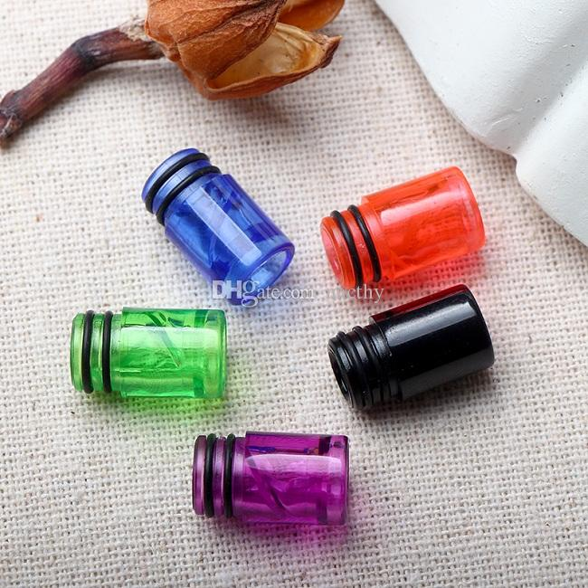 510 Plastic drip tips EGO transparent Mouthpiece Colorful Spiral Drip Tip for CE3 CE4 EGO 510 Thread Vaporizer Thank Atomizer Box mods DHL
