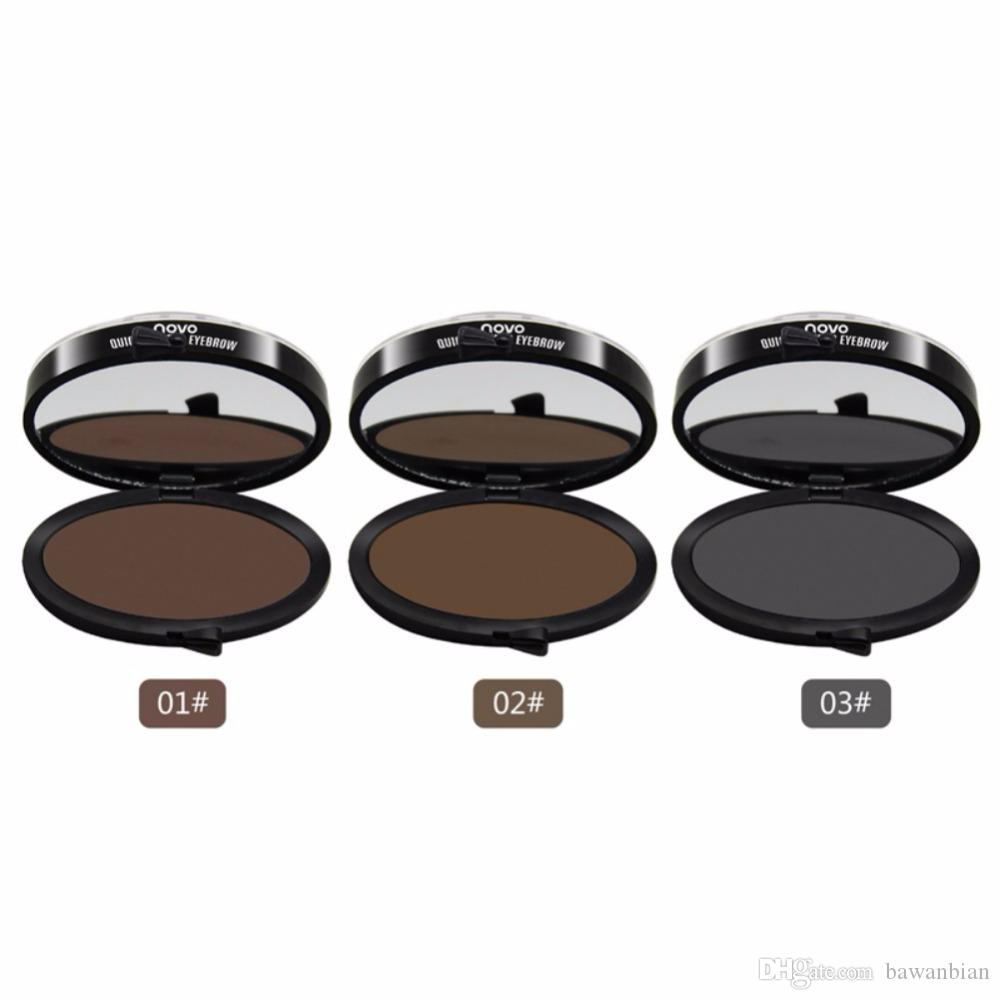Newest Quick Makeup Eyebrow Stamp Eyebrow Powder Seal Fashion convenience Eyebrow Powder