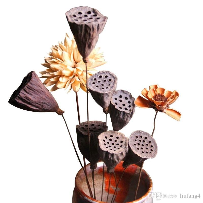 2018 Natural Art Dry Flower Vase Flower Arrangement Decoration Props