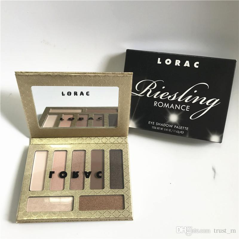 Lorac Resling Romance Black Tie Attire Eye Shadow Palette make up DHL