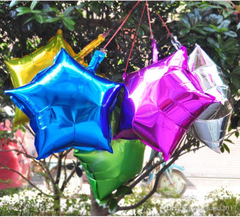 Party Decoration Stars Balloon Cheap Sweet Party Balloons for Christmas Party Supplies For Wedding Event Decorations