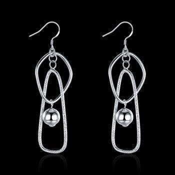 Оптовая низкая цена рождественский подарок стерлингового серебра 925 серьги E072