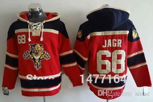 22503d747 ... sale 2019 2016 new florida panthers 68 jaromir jagr ice hockey hoodie jersey  red stitched mens