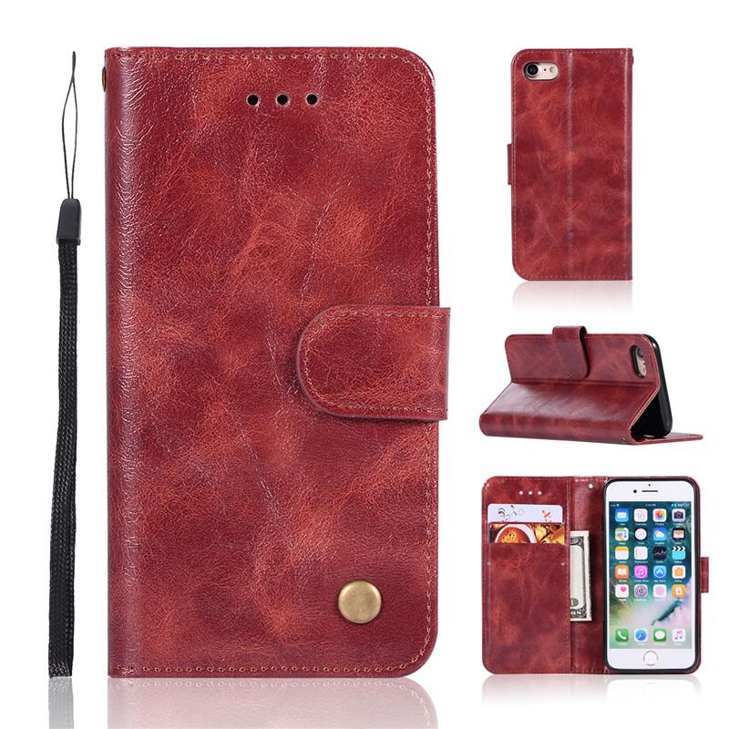For Sony Xperia XZ1 Compact L1 XA1 ULtra XZ Premium XA X performance  Compact XA ULtra /C6 Case PU Leather Stand Wallet Rope Card Slots Cover