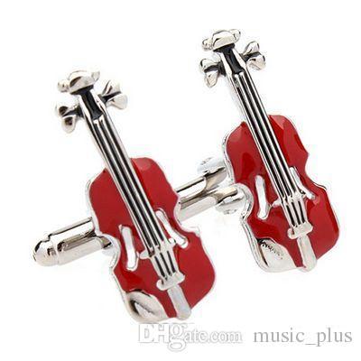 Gemelli Music High Note Shape Gemelli Mens Accessori moda Uomo Regali Gemelli