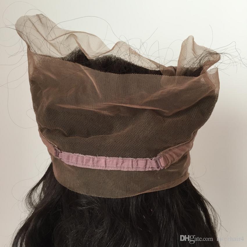 Перуанский девственница волосы человеческих плести кружева 360 фронтальной тела волны свободной части необработанного волос новых моды 8 до 22 дюймов