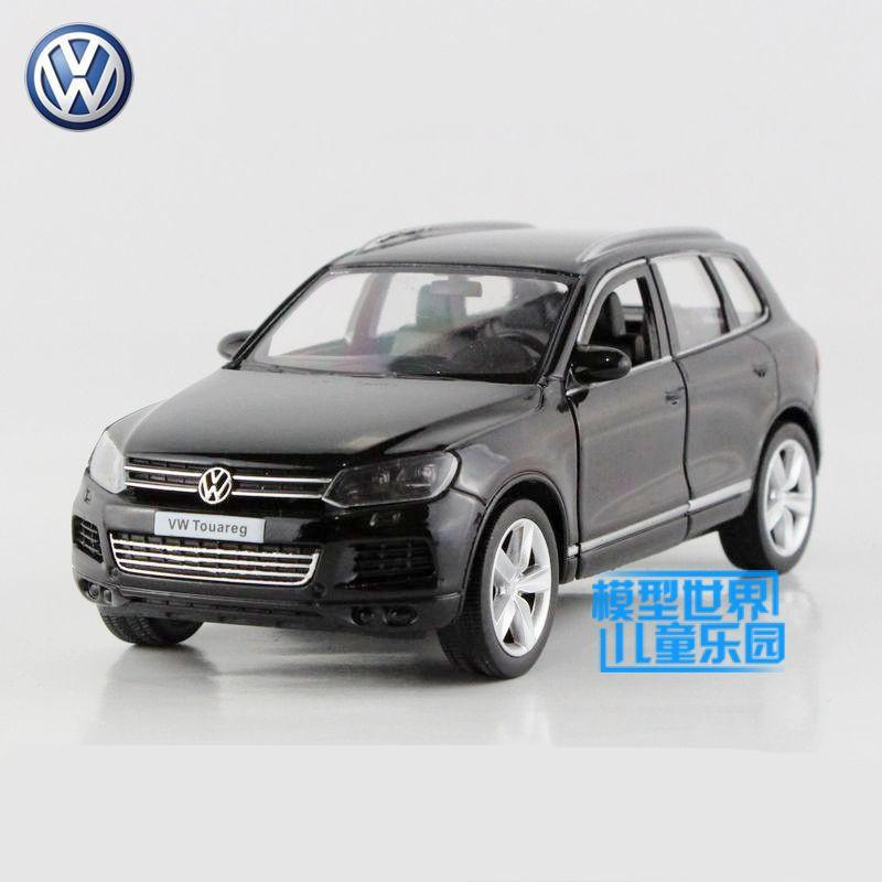 Scale Volkswagen Touareg Suv Toy Educational Model Pull