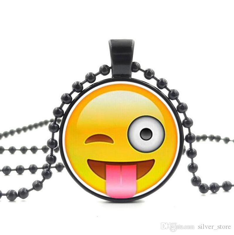 Brand new Explosive Style Time Gemstone Necklace Bead Pendant Sweater Chain WFN457 with chain a