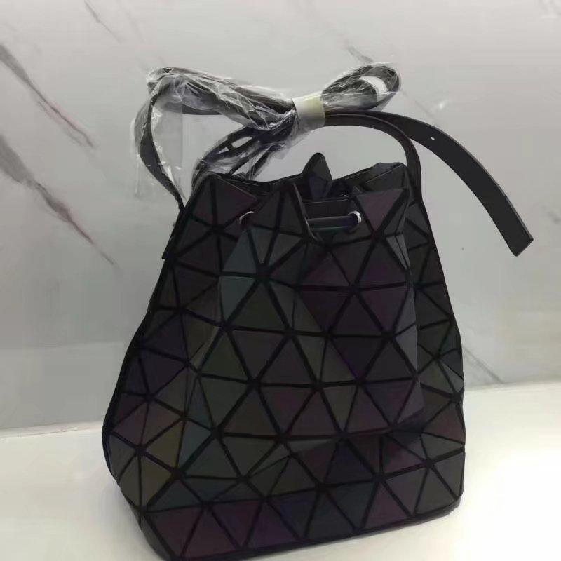 Últimas mulheres sacos de ombro nanômetro material chameleom balde novo Boca boca top quality frete grátis