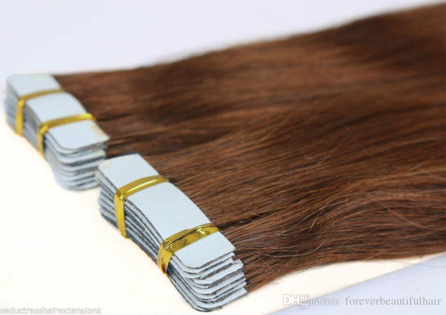 Wholesale adhesive 1 tape Roll Water Proof Double Sided Tape PU Hair Extension Human Wig Adhesive Glue Tapes Styling Tools holds 90-180 days