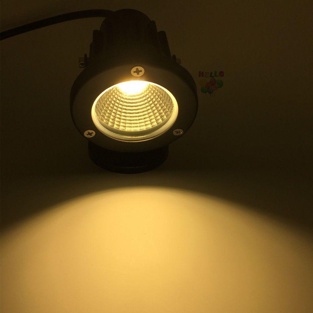 jardin d'éclairage extérieur mené lampe à gazon 3W 5W 7W 9W lampe de jardin extérieur 12V 220V Lumière de pelouse à l'extérieur pour l'éclairage de la cour