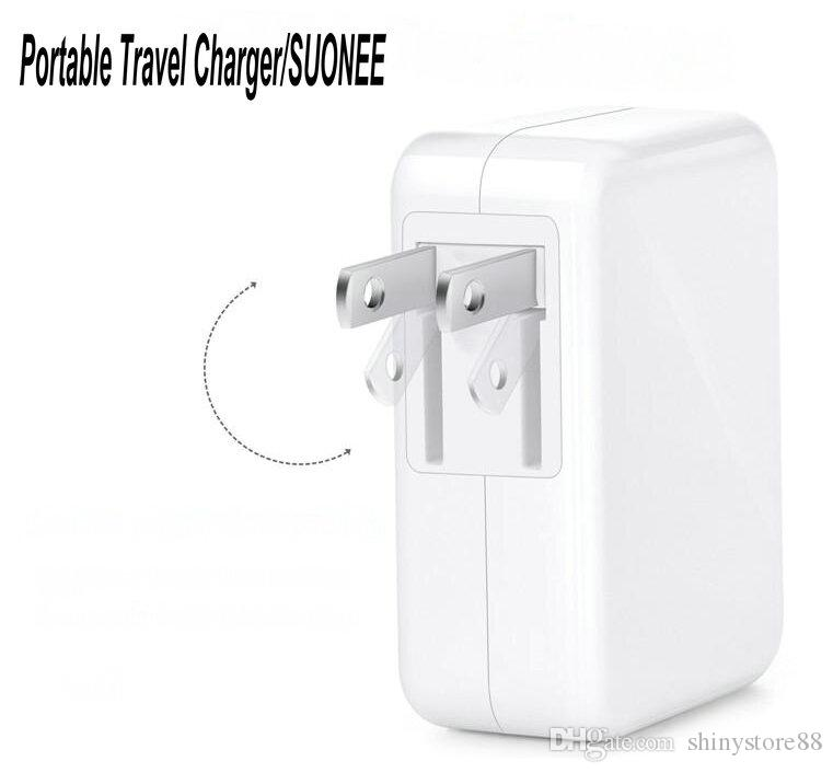 4 Port USB Charger Portable Travel Charger Power Adapter 3.1A/15W Quick Charger With Folding Plug For iPhone iPad Samsung Android Phone
