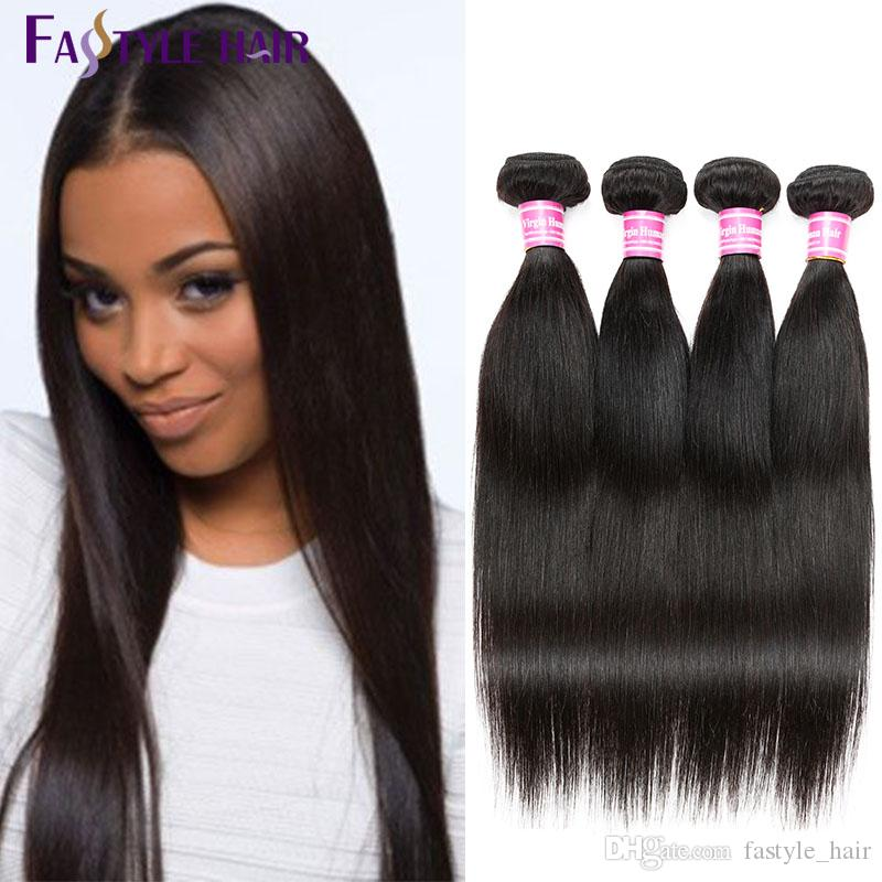New Trend 2017 Indian Straight Hair Weave Extension Unprocessed