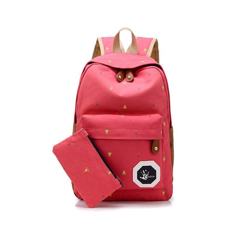 Wholesale Popular Cute Korean Style Double Shoulder Book Bags ...