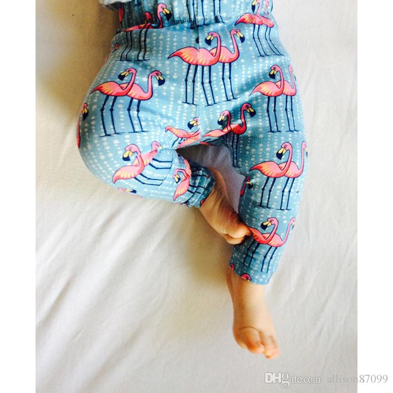 Ins Leggings for baby Baby boy clothes Trousers PP harem Pants Animal Fox Crane Dolphin Full Printed Baby legging 2017 Autumn Spring