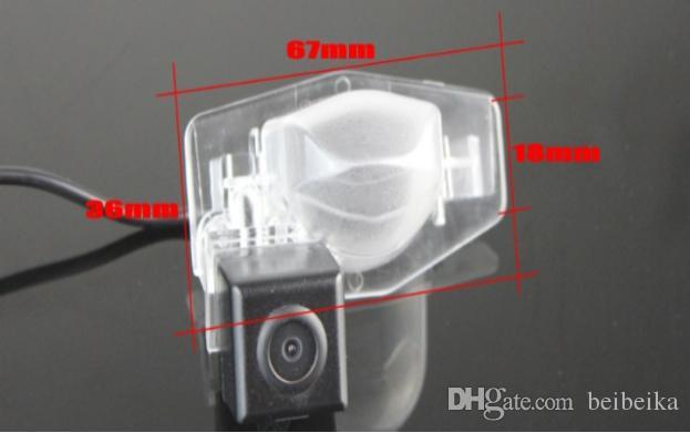Car Camera For Honda Insight 5D 2010~2011 Rear View Camera / HD CCD RCA NTST PAL / License Plate Light OEM