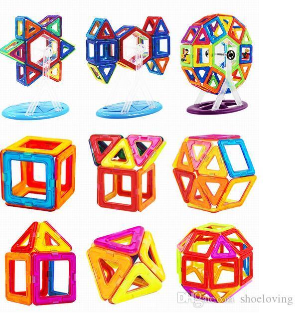 New Hot Magnetic Blocks Toys 3D Magnet Bricks Magnetic Blocks Building Puzzle