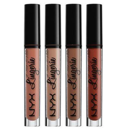 Factory Direct DHL New Makeup Lips NYX Lip Lingerie Matte Lip Gloss Liquid Matte Lipstick