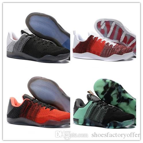 best website 02d89 60434 ... sweden wholesale kobe 11 basketball shoes for women high quality red  green black retro kb 11