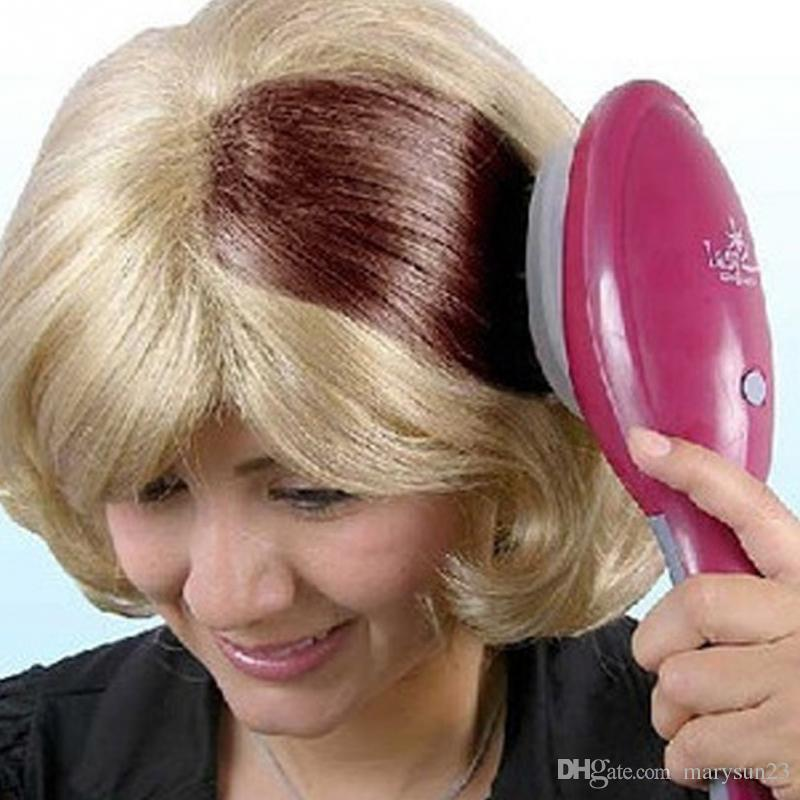 Electronic Hair Dyeing Comb Hair Coloring Brush Color Professional ...