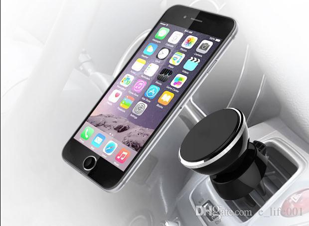 Araç Montaj Hava Firar Manyetik Evrensel Araç Telefon Tutucu iPhone 7 Için Artı 6 6 S Bir Adım Montaj, Güçlendirilmiş Mıknatıs, Daha Güvenli ...
