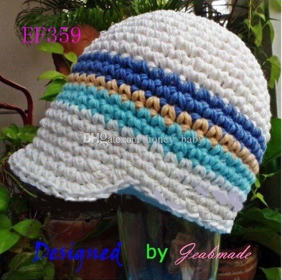 Newsboy Hat Baby Kids Infant Toddler Boys Newborn Autumn Winter Children Beanie Crochet Knitted Skull Caps 100% Handmade Cotton Photo Props