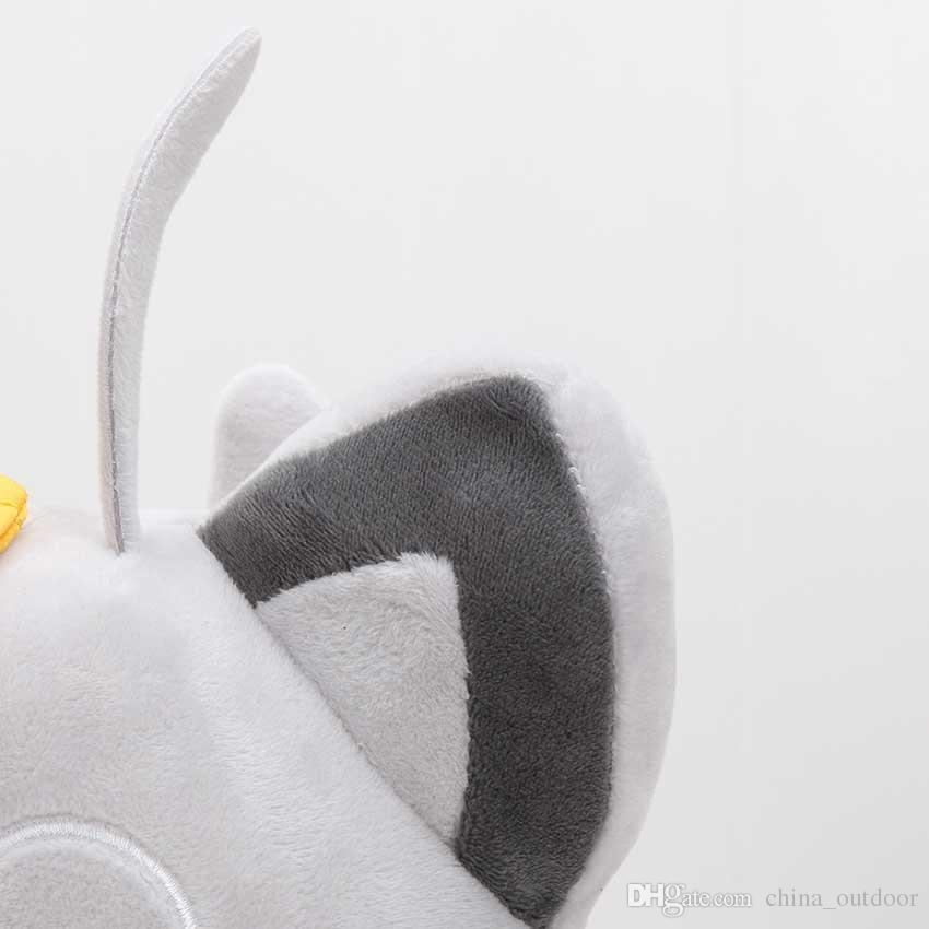 EMS 33 cm Yeni Cep Bebek Peluş Alola Meowth Peluş Oyuncak Dolması Bebek Yumuşak Bebek Oyuncak Hediye
