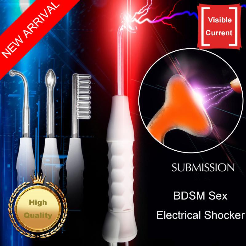 Electric shock wand sex toy