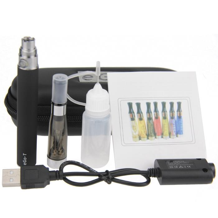 eGo CEful Zipper ego case electronic cigarette starter single kit CE5 atomizer eGo-T battery kits