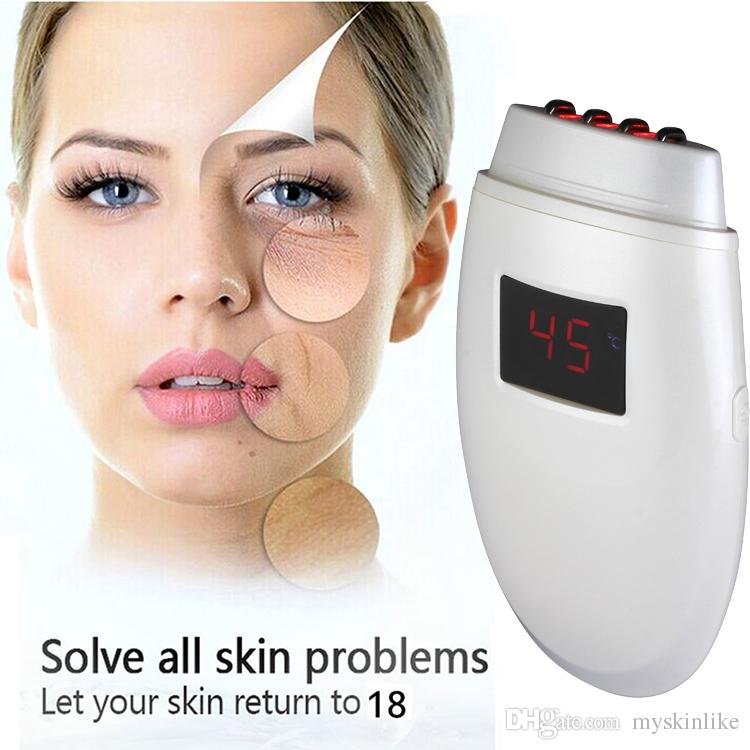 Best face lift machine home use led light therapy for wrinkles non surgical skin tightening radio frequency device SWT-8903