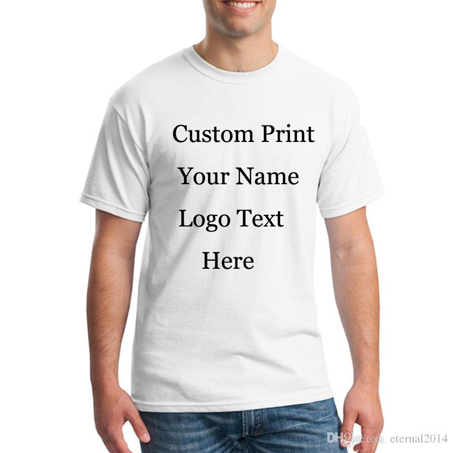 Personal Custom Printing T Shirts Design Clothes Customized Print