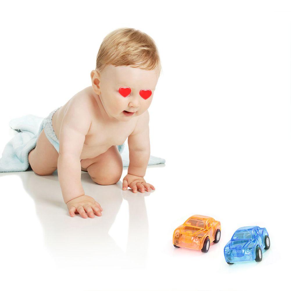5pcs Baby Toys Cute Mini Plastic Pull Back Model Cars Toy Wheels Car Model Funny Kids Toys for Boys Children Random
