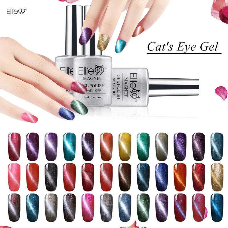 Wholesale Elite99 Nail Gel Cat\'S Eye With A Magnet Nail Art Tips Uv ...