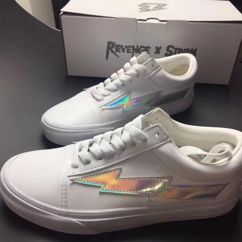 REVENGE x STORM Lightning NEW New Unisex Low-Top & High-Top Adult Men's Women's Canvas Shoes Laced Up Casual Shoes Sneaker Shoes pick a best cheap price perfect cheap price QKcjsGcBuT
