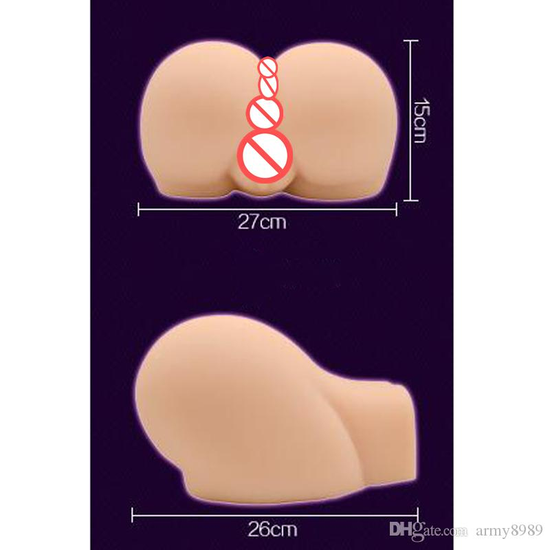 New 5kg 10kg Sex Products,Full Silicone Big Ass Butt With Realistic Vagina & Anal,Real Skin Feeling,Best Male Masturbator toys