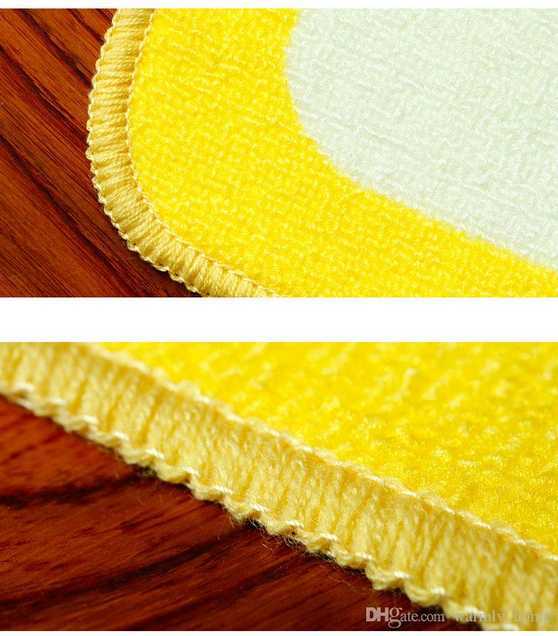 Hot Sale Anti-slip Doormats Bathroom Kitchen Room Floor Pad Matting Rugs Plush Softly Comfortable Footcloth Carpets Bath