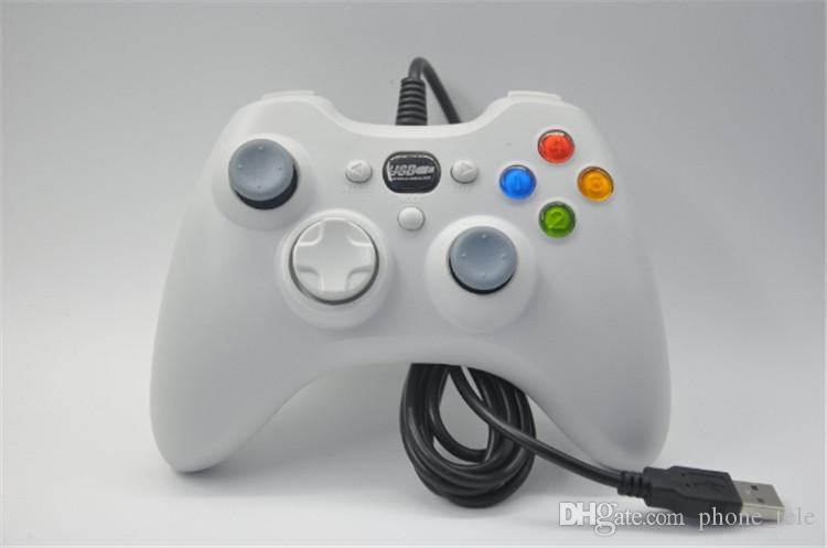 Xbox 360 Controller Gamepad USB Wired Joypad XBOXJoystick Black Xbox360 Game controllers for Laptop Computer PC Hot Sale